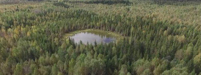 Удивительное озеро