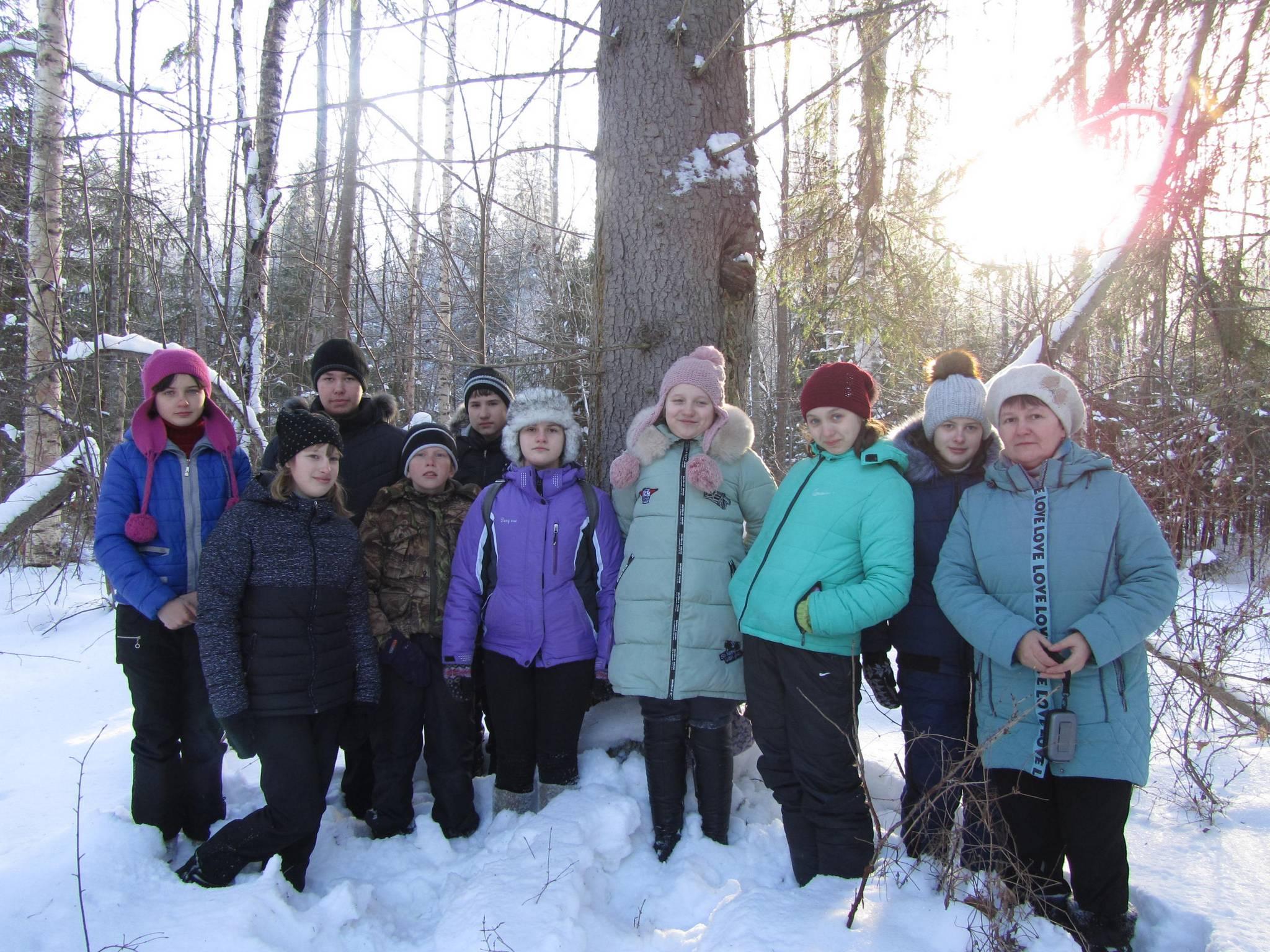 3 февраля ребята из Илешевской и Ужугской школ Кологривского района побывали в заповеднике.